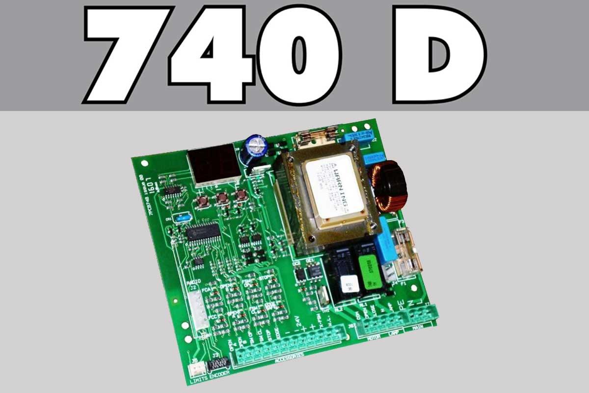 برد D 740