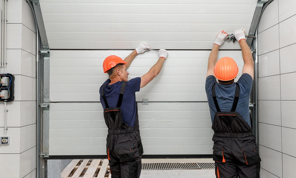راهنمای تعمیر و سرویس درب سکشنال (زیر سقفی)
